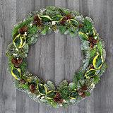 Natural Winter Wreath