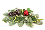 Christmas and Winter Table Decoration