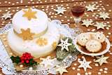 Christmas Cake and Mince Pies