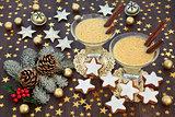 Traditional Christmas Eggnog