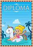 Diploma template image 4