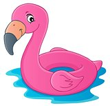 Flamingo float theme image 1