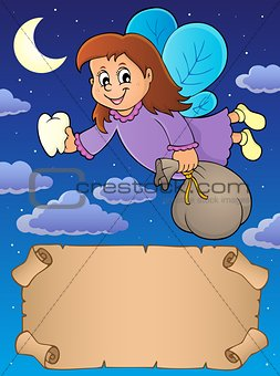 Small parchment and tooth fairy