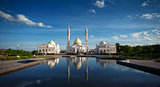 Bulgarians Tatarstan. White mosque