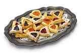homemade hamantaschen cookies