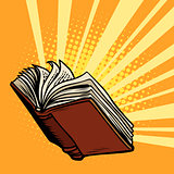 the book shines, light of knowledge