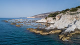 the old marble quarry in Aliki