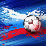 Soccer Championship 2018 abstract backgrounds.