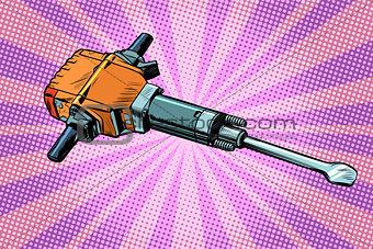 jackhammer, working tool