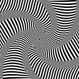 Abstract op art design. Lines texture.