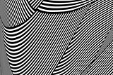 Abstract op art pattern. Lines texture.