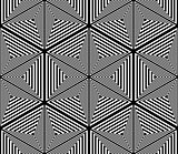Seamless geometric pattern. Lines texture.