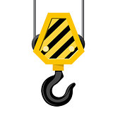 Industrial hook - construction crane hook