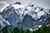 Glacier of Mont Blanc, Aosta Valley