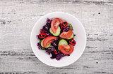 Fresh salad plate