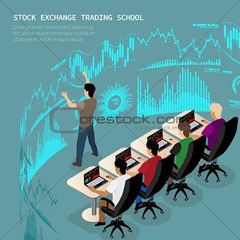 izometric trader school