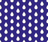 seamless water drops background. Raindrop wet weather vector illustration