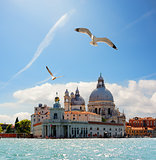 Old cathedral of in Venice