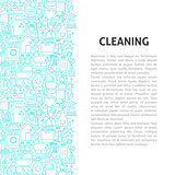 Cleaning Line Pattern Concept