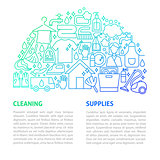 Cleaning Services Line Template