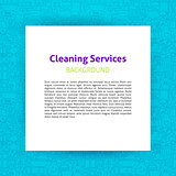Cleaning Services Paper Template