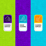 Line Cleaning Package Labels