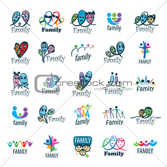 vector family logo