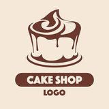 Logo Cake shop