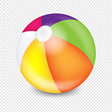 Beach Ball Transparent Background