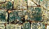 Background of Colorful Cobblestones