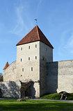 Maiden's Tower in the city wall of Tallinn, Estonia
