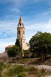 Church of Saint Jaume. Creixell, Tarragona, Spain.