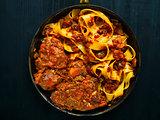 rustic italian oxtail ragu pappardelle pasta