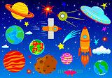 Astronautics, spase set