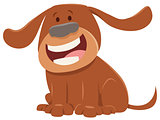 cute dog or puppy cartoon character