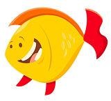 cute cartoon fish animal character
