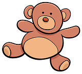 teddy bear cartoon toy clip art