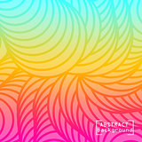 Colorful gradient mesh background in bright rainbow colors.