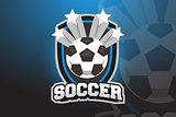 Soccer ball Logo Design for Esports, Sport Team
