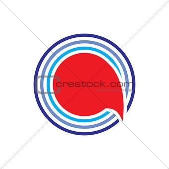 global talk line logo design