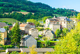 City of Auxillac in France