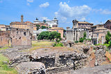 Ancient Forum in Italy