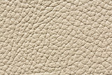 Light beige leather texture with relief surface.