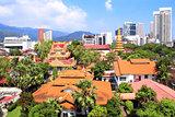 Pulau Tikus, thai Buddhist temple, Georgetown, Penang island, Ma