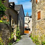 Medieval city of Les Salelles