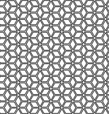 Seamless op art geometric pattern.