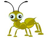 Cartoon insect ant