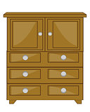 Furniture wooden closet