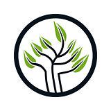 Logo design for tree