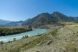 Katun River. Altai Mountains, Russia.